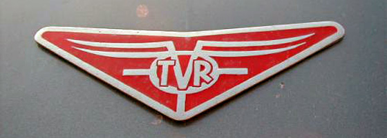 1962 TVR Grantura badge